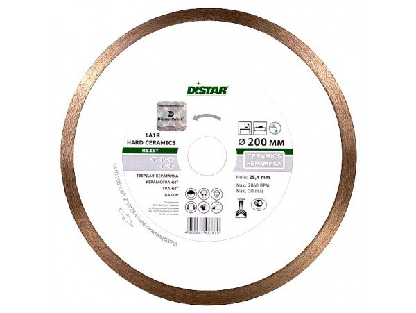 Алмазный диск DISTAR 1A1R Ø400x2,2x10x32 Hard ceramics